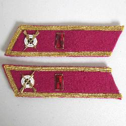 USSR Collar Tab, Infantry officer, Сaptain, Type 1935