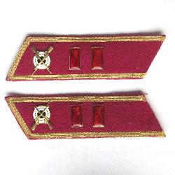 USSR Collar Tab. Infantry officer, Major. Type 1935