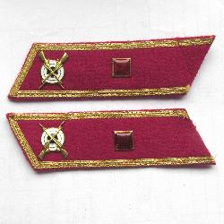 USSR Collar Tab. Infantry officer, Sub-Lieutenant. Type 1935