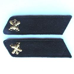 USSR Collar Tab. Chemical troops. Type 1935