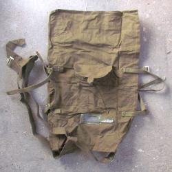 Soviet army green duffel bag, WW2
