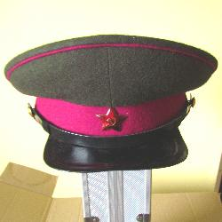 USSR military peaked cap. Infantry officer. Type 1936