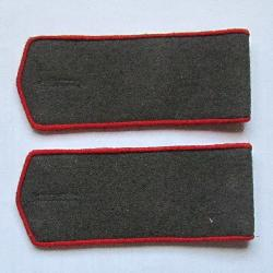 Field soviet shoulder boards, Artillery and ABTV privates, Type 1943