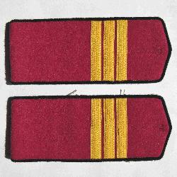 Everyday soviet shoulder boards, Infantry Sergeant, Type 1943