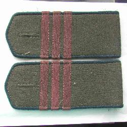 Field soviet shoulder boards for red army medic sergeant, Type 1943