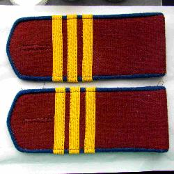 Everyday soviet shoulder boards, NKVD petty officer (Sergeant)